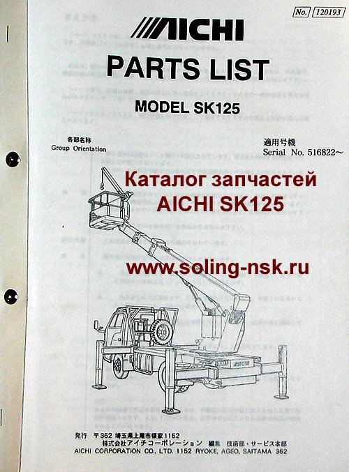 Каталоги запчастей, инструкции